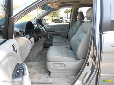 gray interior 2006 honda odyssey ex l photo 67039491 gtcarlot com