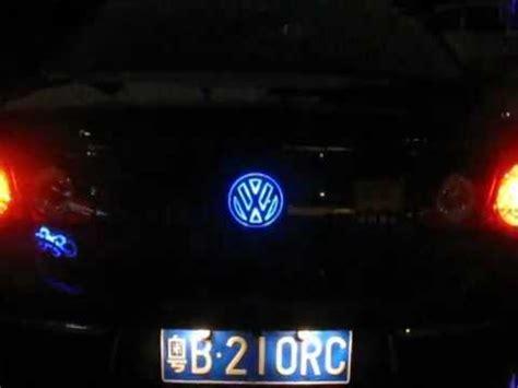 Light Up Car Emblems by Led Car Badge Emblem Logo Light For Trunk Lid