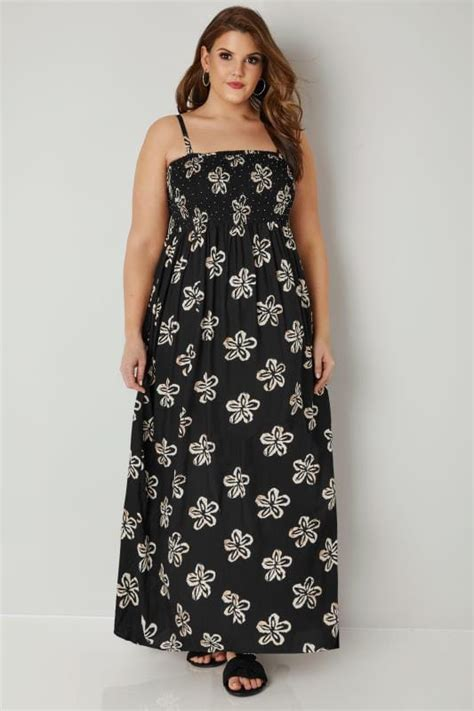 And Color Icon Blush Chagne Blushon Blush On black shirred bandeau floral maxi dress with detachable