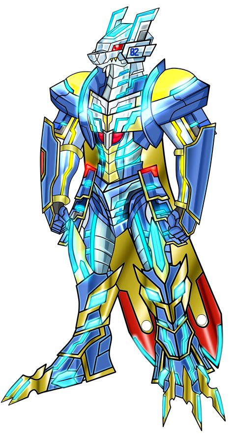 anoboy digimon magnagarurumonmon x antibody no armor by dragonnova52 on