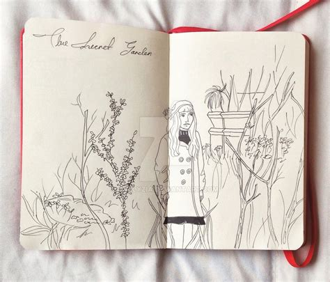 2018 garden journal and data keeper from the organic gardener podcast books the secret garden by coppola by callyzia on deviantart