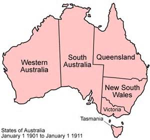 Of the boundaries of the states of australia click to see animation