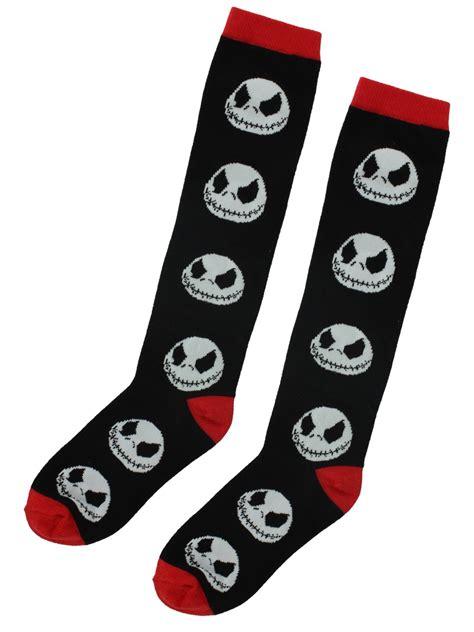 nightmare before christmas jack skellington nbx long socks