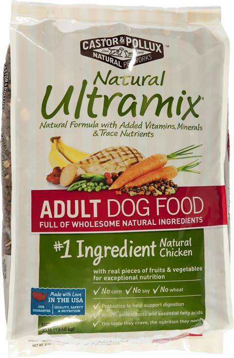castor and pollux food castor pollux ultramix food 30 lb bag