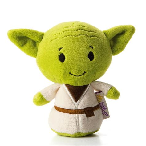 hallmark stuffed animals hallmark itty bitty yoda stuffed animal the paper store