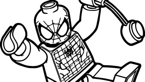lego spiderman coloring pages games spectacular spiderman coloring pages free superhero marvel