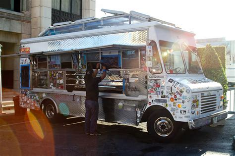 Bbq Food Truck Design | roy choi founder of kogi bbq trucks takes gourmet food to