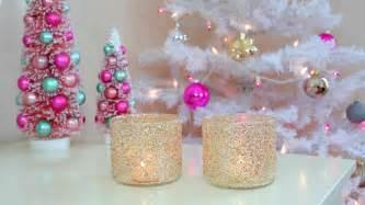 diy christmas winter room decor frosty glitter jars