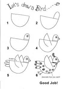How To Draw Bird Draw A Bird Draw With Rich