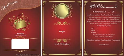 template undangan pernikahan coreldraw 12 undangan pernikahan edit coreldraw guru corel
