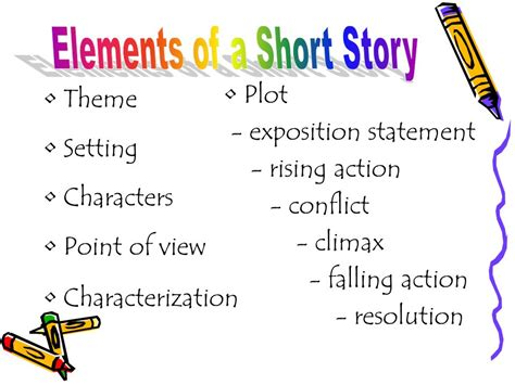 five themes of a story elements of a short story ppt download
