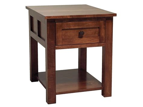 living room end tables with drawers abalone living room sherwood 1 drawer end table aw7321