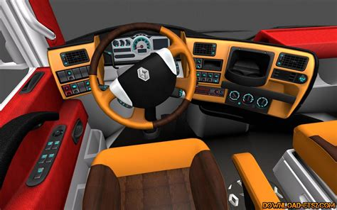 renault interior interior for renault magnum by hummer2905 187 download ets 2