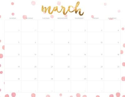 march 2017 calendar cute weekly calendar template oh so lovely free 2017 printable calendars 20 design