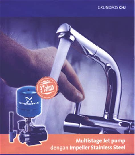 Pompa Air Jet P water review grundfos chj multistage jet