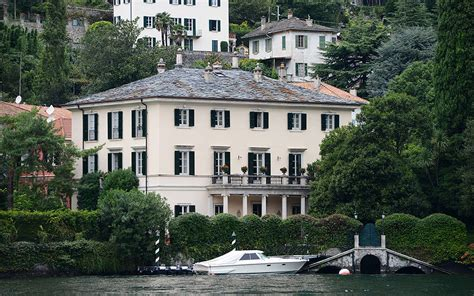 george clooney home in italy lake como towns enjoys george clooney effect as rumoured