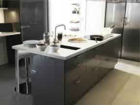 Grey Kitchen Cabinets Ikea Ikea Kitchen Contemporary Kitchen Other Metro By Ikea