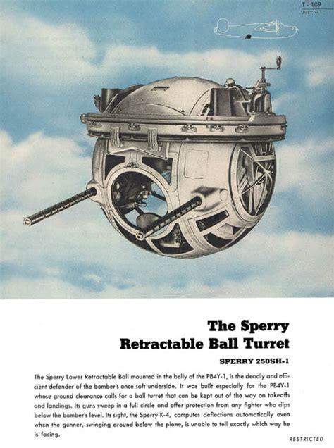 Aircraft Gunnery_Ball Turret B 24 Ball Turret