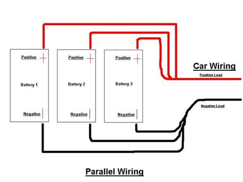 series parallel battery wiring diagram series get free