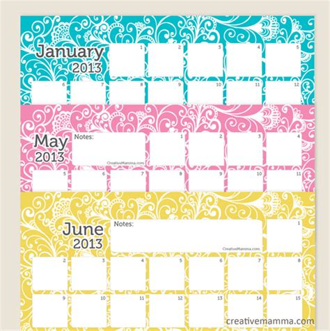 doodle calendar big list of free printable calendars for