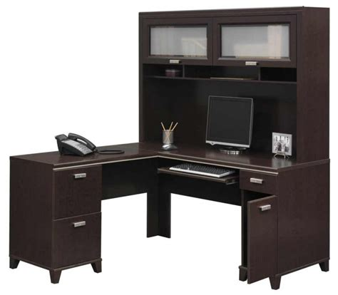 Corner Desk With Hutch For Home Office Furniture Corner Home Office Desk