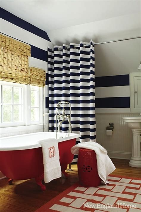 navy and red shower curtain white shower curtain with navy trim design ideas
