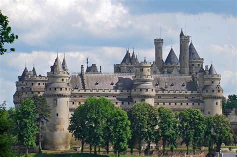 castles architecture pierrefonds wallpapers