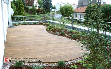 Gartengestaltung Mit Holzterrasse M 246 Belideen Musterhaus
