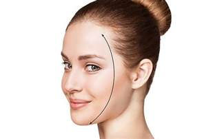 hairstyles for high foreheads and thin hair amazing hairstyles for big foreheads learn how to hide
