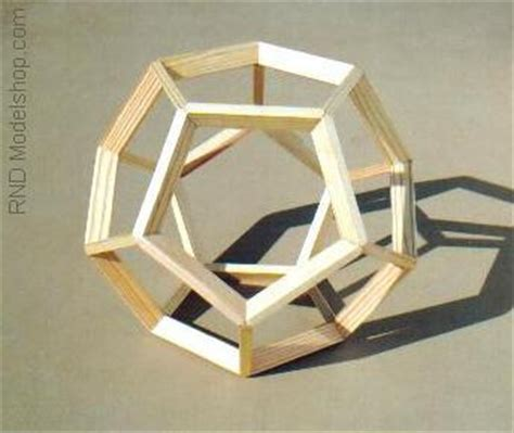 dodecahedron wood frame model 9 quot these are great as