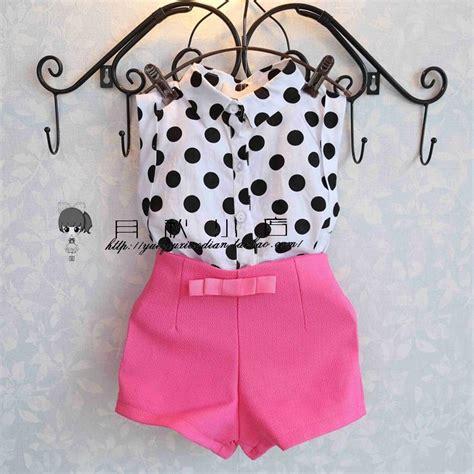 H Set Bibie Polka Kid 2016 summer fashion baby clothing sets baby