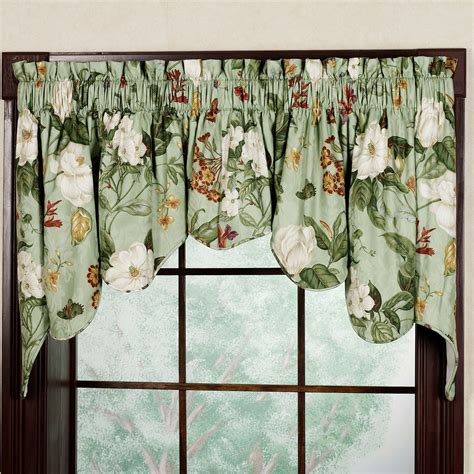 Waverly Curtain Valances Garden Duchess Swag Valance Pair By Waverly