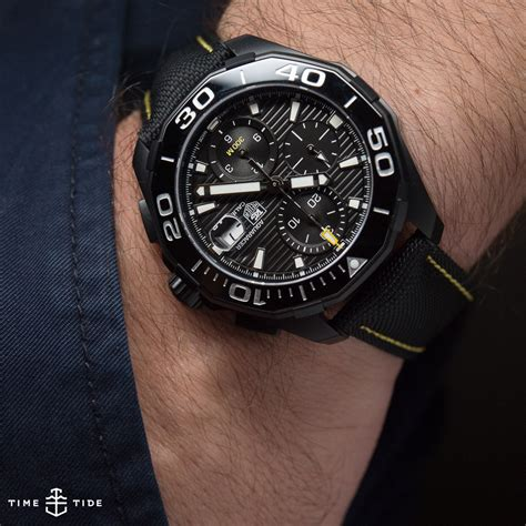 EDITOR'S PICK: The TAG Heuer Aquaracer 300 Calibre 16 Chronograph review   Time and Tide Watches