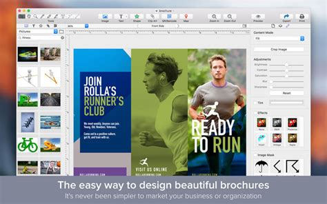brochure layout maker brochure maker design beautiful brochures app iphone
