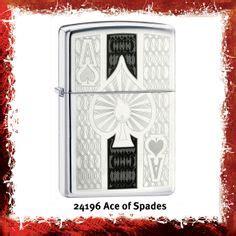 24196 Zippo Original Ace lighter brass and patterns on