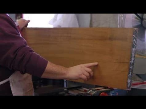 how to repair split wood table top how to fix splitting wood furniture repair tips