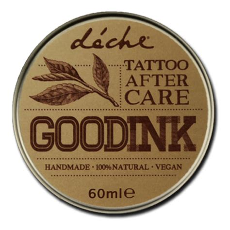 Good Tattoo Care Products | good ink tattoo aftercare 100 natural after tattoo cream