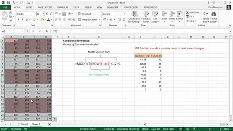 excel alternating row color excel alternating row color shading alternating 4 rows