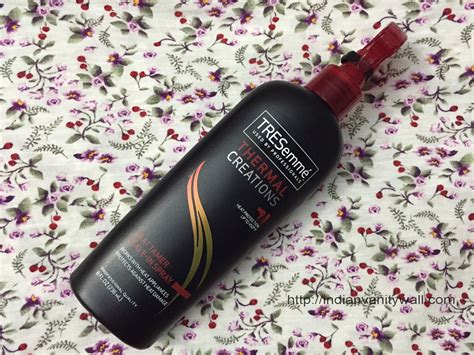 Harga Tresemme Heat Tamer Spray tresemme thermal creations heat tamer leave in spray review