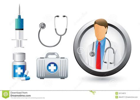 imagenes de herramientas medicas m 233 dico herramientas e iconos ilustraci 243 n del vector