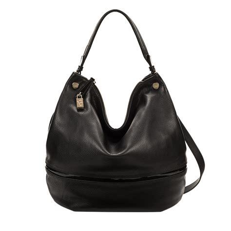 Furla Hobo furla montmartre hobo bag in black onyx lyst