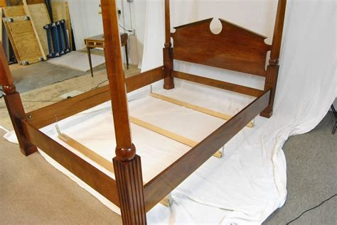 Canopy Bed Frames For Sale Federal Style Henredon Cherry Size Canopy Bed Frame For Sale At 1stdibs