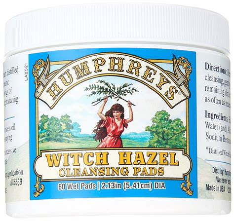 Astringent Fruits List Detox by Witch Hazel Astringent Cleansing Pads 60 Ct 5 26ea From