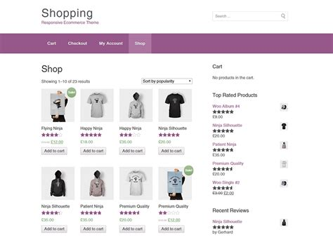 35 best free ecommerce wordpress themes 2016 athemes