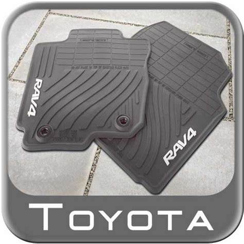 toyota rav4 all weather floor mats rav4 all season auto