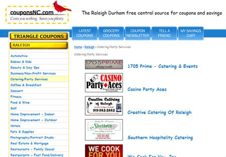 coupon database north