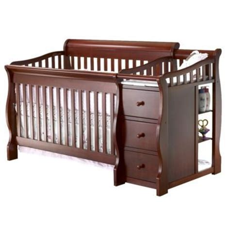 Tuscany Crib And Changer by Sorelle Tuscany 4 In 1 Convertible Crib And Changing Table