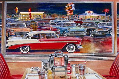 Vintage Wall Murals american diner wallpaper wallpapersafari