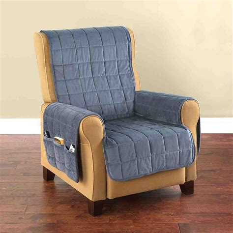 how to make a recliner slipcover armrest covers for recliners home furniture design