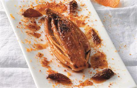 cucina belga ricette ricetta indivia belga brasata all arancia e grand marnier